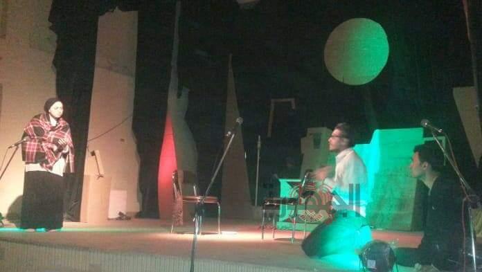 فرقة نادى مسرح ثقافة بداوي تواصل تقديم صدي الصمت