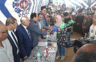 رئيس مدينة القصاصين يشهد حفل ختام الانشطة بمدرسة المحسمة الثانوية بالإسماعيلية .