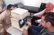 جمعية صوت الأمة الخيرية تنظم قافله طبية لمرضى الرمد بالمنزلة