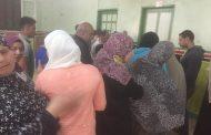 جمعية صوت الأمة الخيرية توقع الكشف على 300 مريض رمد فى قافلة طبية