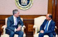 وزير التجارة والصناعة يبحث مع نائب وزير الاقتصاد الإستوني سبل تعزيز التعاون بين البلدين
