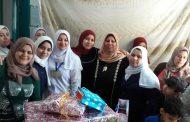 مستشفى سمنود : تكرم شاديه المنشاوى لبلوغها السن القانوني