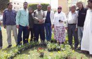جيهان مسعود تحتفل بعيد الربيع ببرج العرب