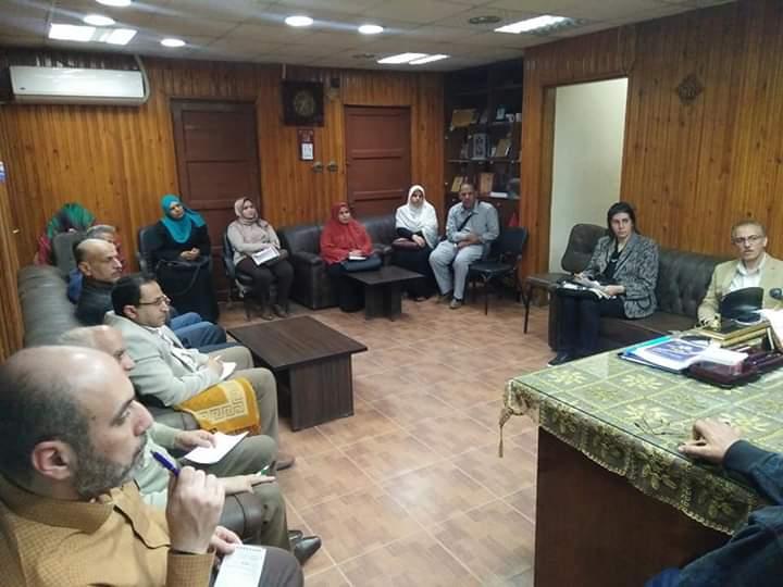 اجتماع وكيل صحة الشرقية مع مديري الإدارات الصحية والمستشفيات لتقديم خدمة صحية أفضل