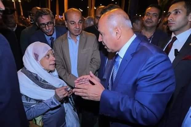 كامل الوزير يتفقد محطة قطارات مصر لمتابعة الأنضباط وانتظام الخدمة بها ليلأ