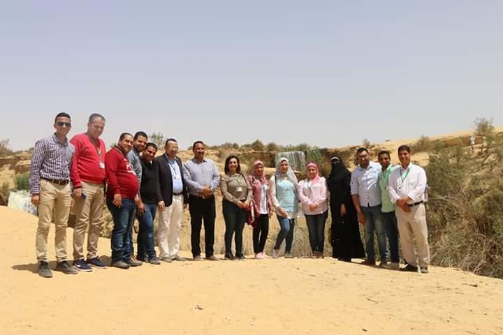 ياسمين فؤاد وزيرة البيئة تنشيط السياحة في الفيوم