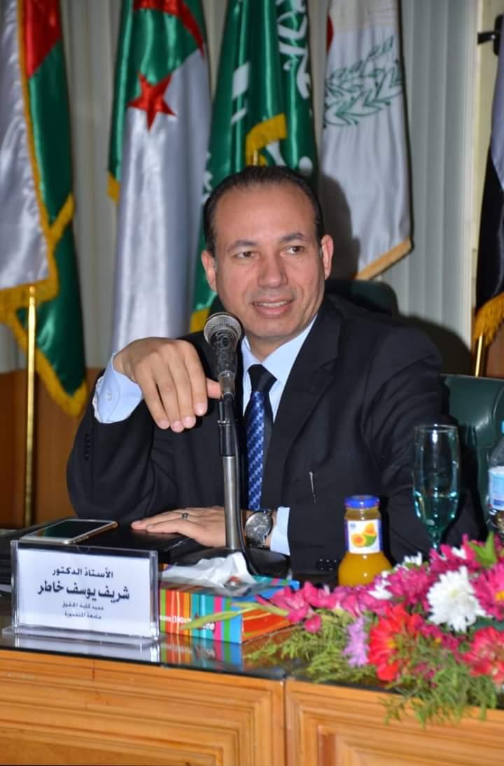 عميد كلية حقوق المنصوره المشاركه في الاستفتاء الدستوري واجب وحق دستوري