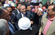 محافظ الإسماعيلية يتفقد لجان الاستفتاء على التعديلات الدستورية وإقبال جماهيري متزايد