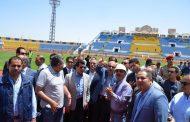 رئيس الوزراء السابق ووزير الشباب والرياضة يتفقدون استاد الإسماعيلية استعداد لإستضافة البطولة الأفريقية