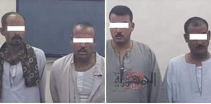 خاطفي الطفل محمد وائل بين يد العدالة بجهود أمنية