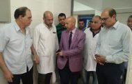 وكيل وزارة الصحة بالشرقية يتابع الإستعدادات لإفتتاح قسم الجراحة بأبو كبير