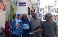 حملة توعوية تجوب شوارع قري مركز ومدينة مشتول السوق-شرقيه