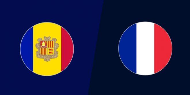 مباراة فرنسا واندورا