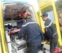 إصابة ٣ أشخاص فى حادث تصادم دراجتين بخاريتين على طريق المنصورة طناح