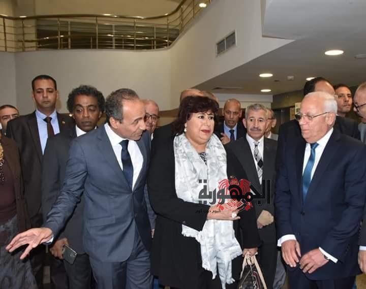 وزير الثقافة ومحافظ بور سعيد يفتتحان الدورة ٣٤ من المؤتمر العام لأدباء مصر