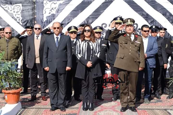 مدرسة الجمهورية بالزرقا تحتفل بعيد الشرطة بحضور عدد من القيادات