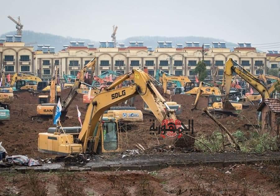 الصين تعلن عن تشييد مستشفى جديد خلال 10 أيام لعلاج مصابي الفيروس الغامض