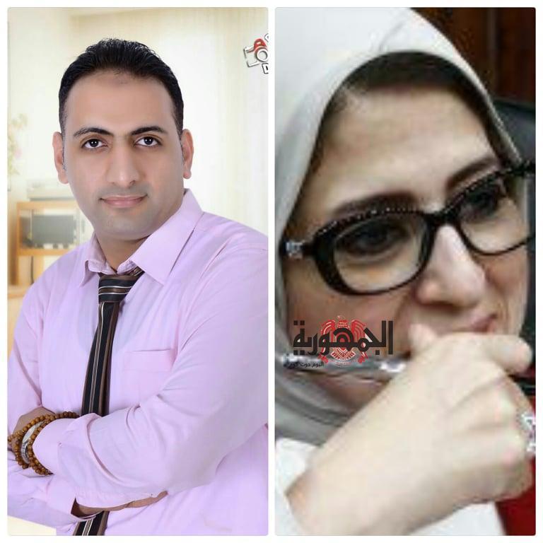 الدكتور /هاني عبد الظاهر يتابع بأهتمام شديد الخطط الوقائية وإلاجراءات المشددة لمواجهة تهديد فيروس كورونا