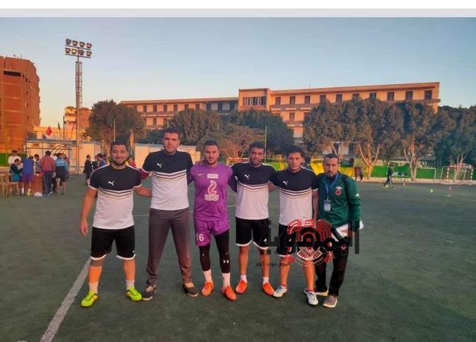 تألق منتخب الجامعة لكرة القدم وصعوده إلى الدور التالي من المجموعات بأسبوع الجامعات بجامعة سوهاج