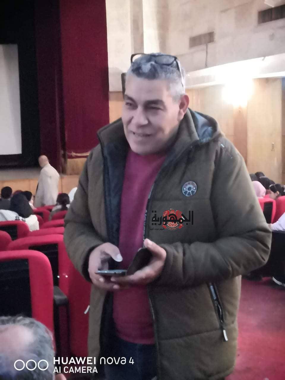 المخرج حلمي ياسين يقدم 5 افلام فى عرض خاص بقصر ثقافه دمياط