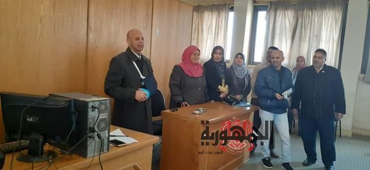 وكيل وزارة الصحة بالشرقية يتابع التدريبات المكثفة للفرق الطبية لمبادرة صحة المرأة بمنيا القمح