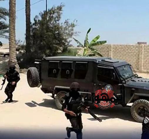 القبض على الخارجين عن القانون ومداهمة أوكار السلاح والمخدرات بالجيزة