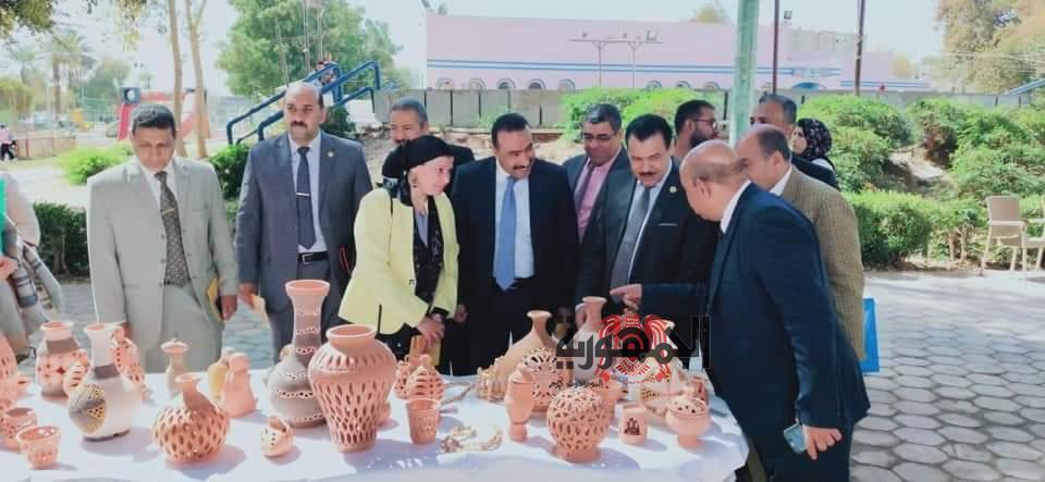 إنطلاق فعاليات المؤتمر العلمى الثامن لثقافة القرية بعنوان