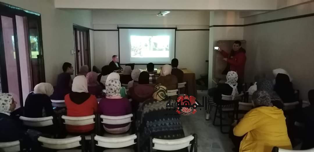 صناعة فيلم رسوم متحركة وتبادل الرؤية الفنية بثقافة المنيا