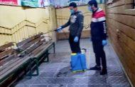استمرار عمليات رش وتطهير جمعية تنمية المجتمع بالششتاوى ضد فيروس كورونا