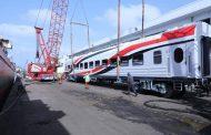 النقل : وصول العربة الأولى من صفقة توريد 1300 عربة سكة حديد
