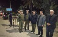 حملات امنية مكثفة لتطبيق حظر التجولفى مركز البرلس بكفر الشيخ