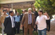 رئيس جامعة السادات في متابعه هامه  الأعمال الإنشائية الجارية بكلية التربية للطفولة