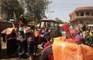 تطهير وتعقيم قرى دنوشر والسجاعية والابشيط بمركز المحلة