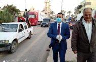 نائب محافظ ..دمياط يتابع حملة تطهير مدينة السرو